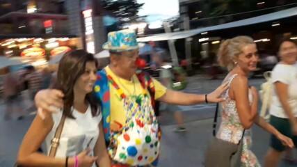 Клоунът веселяк отново в Бургас - август 2020