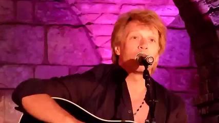 Jon Bon Jovi Running New Song