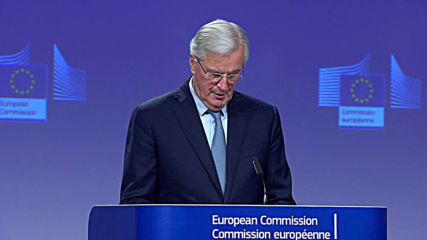 Belgium: EU's Chief Brexit negotiator Barnier announces agreement with UK