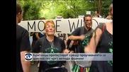 Британци протестират срещу проучванията за шистов газ чрез фракинг