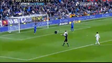 Real Madrid разгроми Getafe с 4 : 0 на 21-я кръг на испанската Примера Дивисион