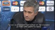 Жозе Моуриньо: Идваме да изиграем хубав мач