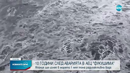 Япония ще излее в морето 1 млн. тона радиоактивна вода
