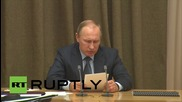 Russia: Putin calls on defence industry to address shortcomings