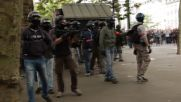 France: Clashes in Nantes as protesters march against Hollande's labour reforms