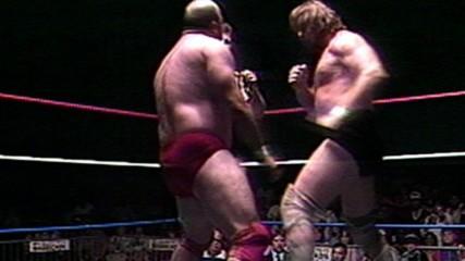 """Hacksaw"" Jim Duggan brutalizes Buzz Sawyer (WWE Network Hidden Gem)"
