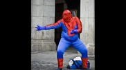 *new* Tenio Gogov - Karnobatman(супермен,  човека паяк,  жената котка,  капитан планета)цялата песен
