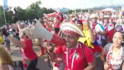 World Cup fans go Kalinka crazy across Russia