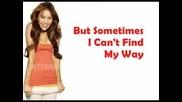 Miley Cyrus Ft. Trace Cyrus - Someday - Lyrics