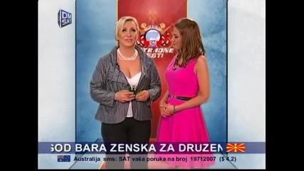 Vesna Zmijanac - Estradne vesti - (DM SAT 22.03.2014)