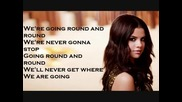 Selena Gomez - Round And Round - Текст (цялата песен)