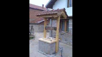 Строителните материали са три - камък, дърво и ... въображение !...