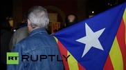 Spain: Catalan activists celebrate independence vote in Barcelona