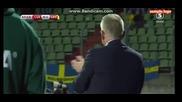 Люксембург 0 - 1 Швеция ( Квалификация за световното 2018 ) ( 07/10/2016 )