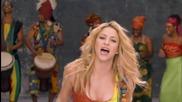 Shakira - Waka Waka /full Hd/ +text