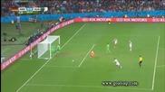 Германия на 1/4 финал на Световното! Германия 2:1 Алжир 30.06.2014