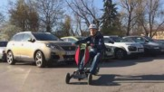 Уникално, българско изобретение - срещу японска кола, по софийските улици!
