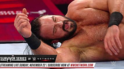 Ricochet vs. Drew McIntyre: Raw, Oct. 28, 2019 (Full Match)