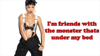 Eminem - The Monster feat. Rihanna / Lyrics / Audio /
