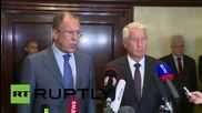 Belgium: Lavrov endorses Council of Europe, hopes it will help realise Minsk agreement
