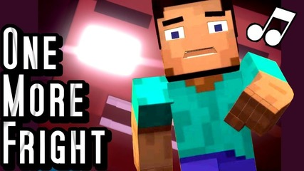 ♪ _One More Fright_ - A Minecraft Parody of Maroon 5's One More Night (Music Video)