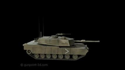 M1A2 Abrams U.S. Tank