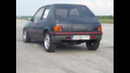 Peugeot 205 gti s nitro vs Peugeot 106 s nitro