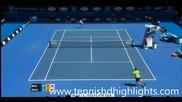 Милош Раонич - Бенджамин Бекер ( Australian Open 2015 )