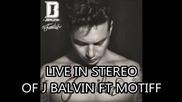 J Balvin Ft F Motiff - Live in Stereo (album La Familia)