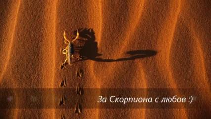 За Скорпиона с любов - стих, пожелание, зодии