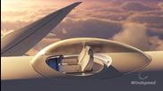 Пътнически места на покрива на самолет