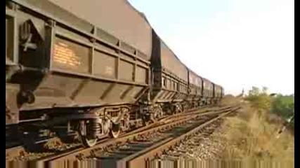 Локомотив Lde2100 Sulzer + 50 Вагона Fals