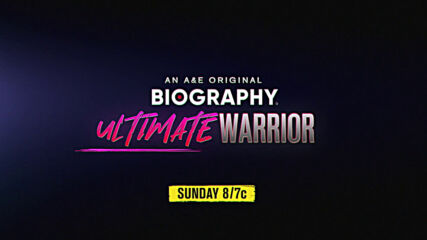 A&E's Original Biography Ultimate Warrior airs this Sunday 8/7c on A&E