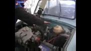 Трабант С Двигател На Golf Vr 6 Turbo