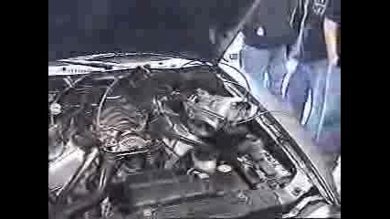 Ford Mustang Nitro Test - Гръмване