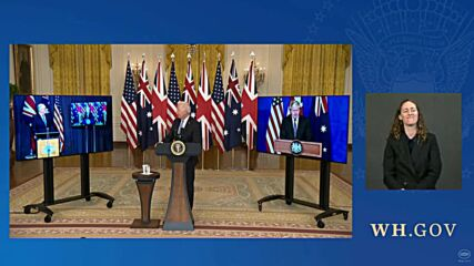 USA: Biden and Johnson join partnership to help Australia acquire nuclear submarines