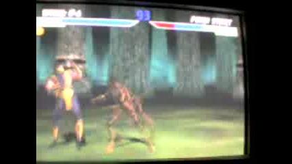 Mortal Combat 4 - Tania vs. Scorpion