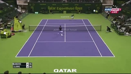 Novak Djokovic vs Dusan Lajovic Preview – Atp Doha 2015 Round 1 - 1st Set 01_06_2015
