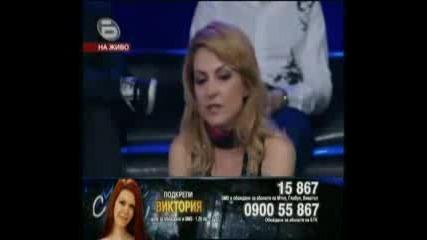 Music Idol 3 - 21.04.09г. - Концерта на Застрашените - Виктория!