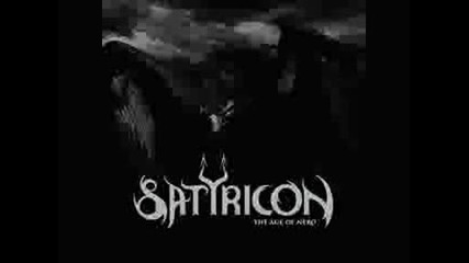 Satyricon - Black Crow On A Tombstone From Trident