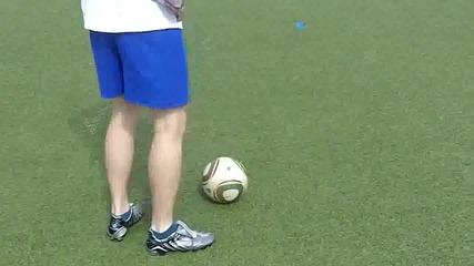 Как да бием пряксвободни удари като Роналдо?