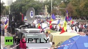 Moldova: Thousands join anti-government protest in Chisinau