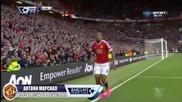 Марсиал е играч на месец Септември в Висшата Лига! Ето и един негов гол
