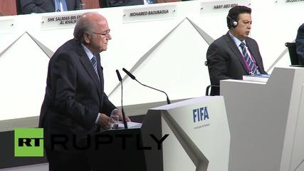 """Switzerland: Sepp Blatter defends FIFA, blames """"individuals"""""""