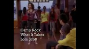 Camp Rock - What It Takes ( Official Music Video )