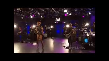 Rihanna - Hard Live @ A O L Sessions
