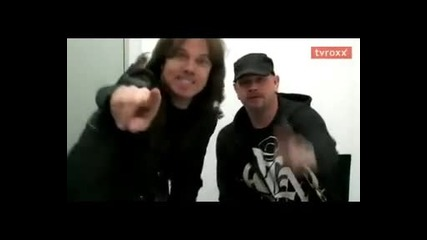 Joey Tempest & Ian Haugland - greet from Germany
