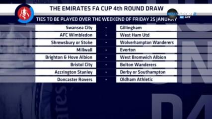 Голямо английско дерби в четвъртия кръг на ФА Къп