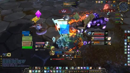 World Of Warcraft (wod) Arena Match Kfc vs. Kitty Cleave (shaman Pov) with Skype, 1%hp Link :d