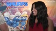 Деми и другите актьори с от the smurfs the lost village в игра-драматични текстове от песни